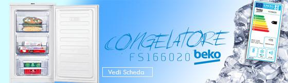 Congelatore Beko FS166020