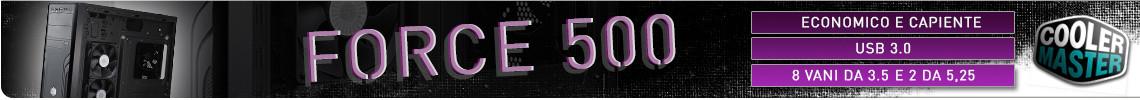 Coolermaster force 500