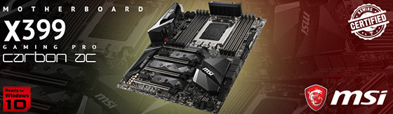 Scheda Madre Msi X399 Gaming Pro Carbon AC (D) TR4