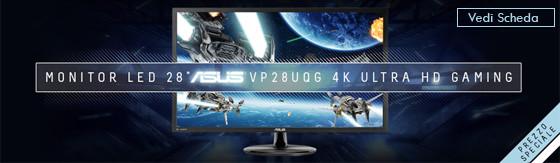 "Monitor Led 28"" Asus VP28UQG 4k Ultra Hd Gaming [90LM03M0-B01170]"