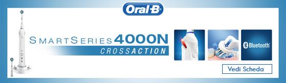 Spazzolino elettrico Braun D601.524.3 cross action