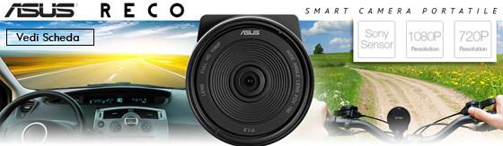 Videocamera Dashcam Asus da auto con GPS
