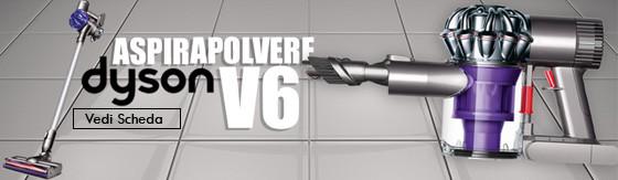 Aspirapolvere Dyson portatile V6 Digital Slim bianco/argento