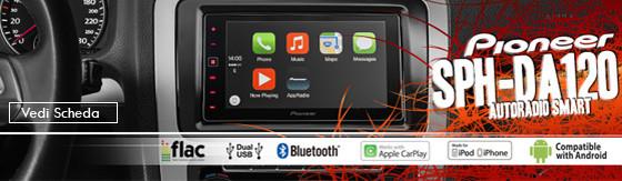"Autoradio Pioneer SPH-DA120 7""BT M.Link Apple/Andr."