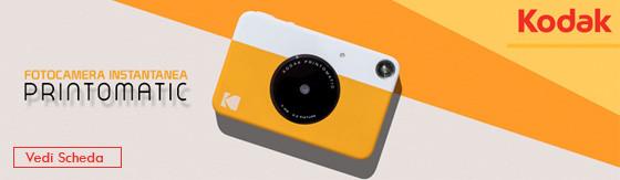 Fotocamera Istantanea Kodak Printomatic grigio