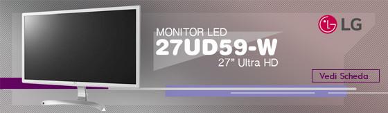 "Monitor Led 27"" Lg 27UD59-W 4K Ultra HD [27UD59-W]"