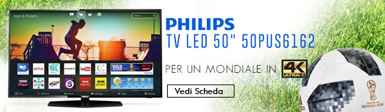 "Tv Led 50"" Philips 50PUS6162 4K Ultra Hd"