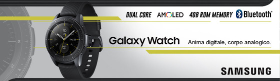 Smartwatch Samsung Galaxy Watch 42mm nero
