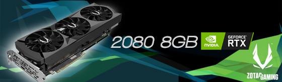 nVidia RTX 2080 8GB Zotac